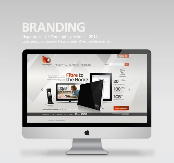 website typography